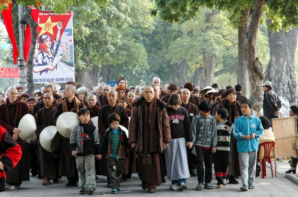 Lịch trình chuyến đi Việt Nam năm 2005 – Hà Nội