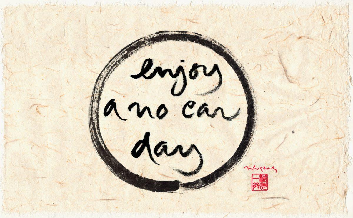 Enjoy a no car day