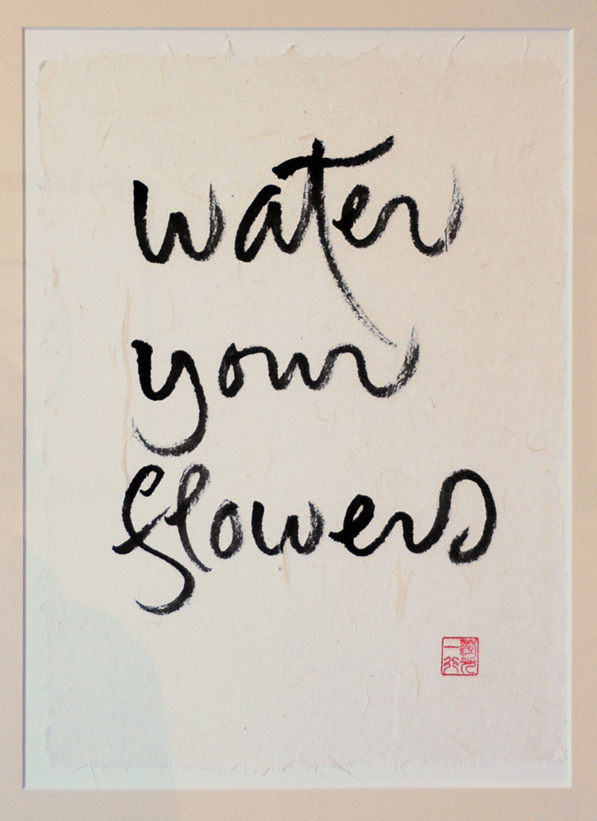Water your flowers