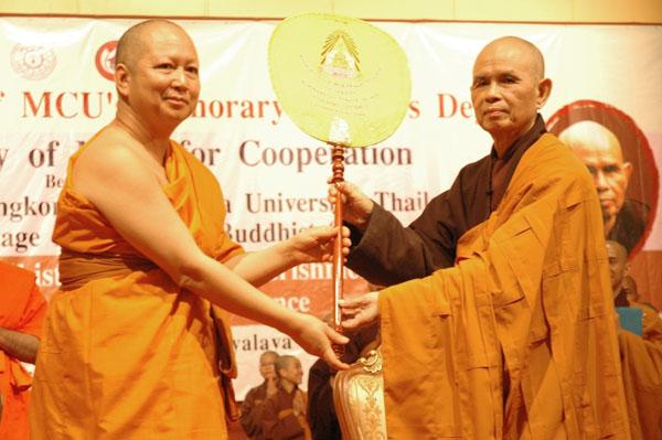 MCU và Làng mai Thái 2011